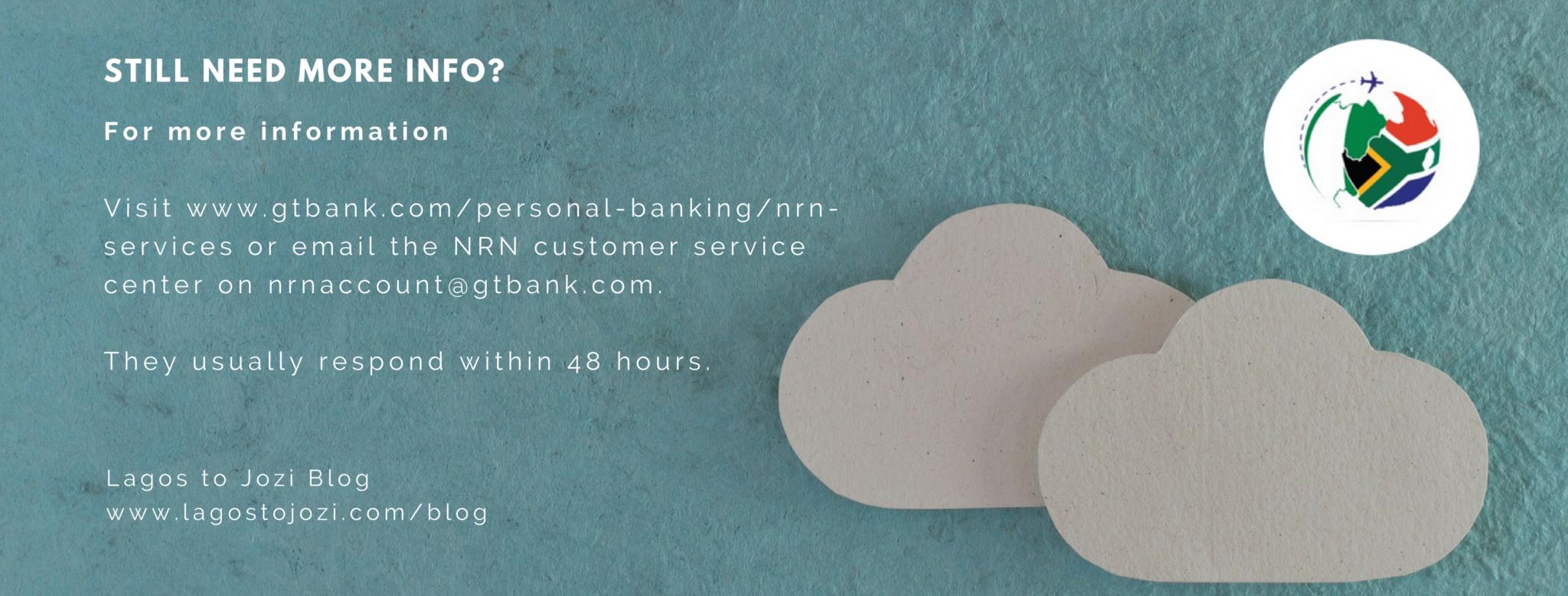 non resident Nigerian bank account