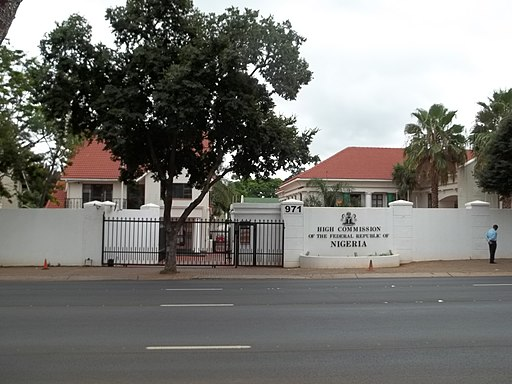The Nigerian High Commission In Pretoria, South Africa
