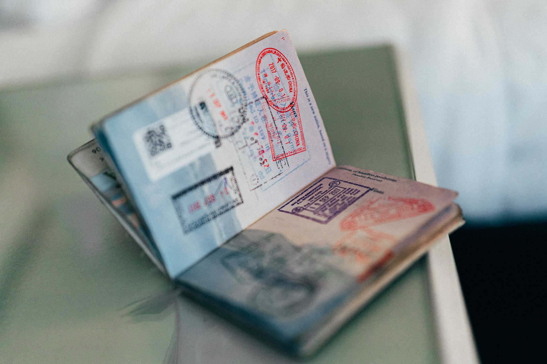 Travel checklist for you documents icluding passports and visas